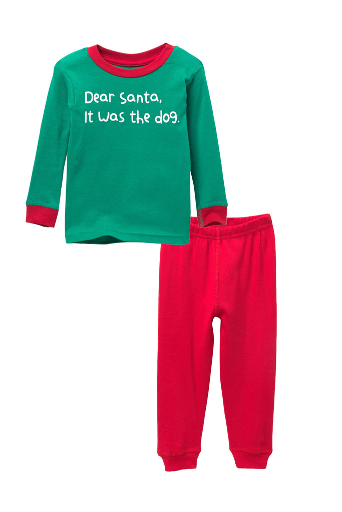 Dear Santa, it was the dog Pajama Set