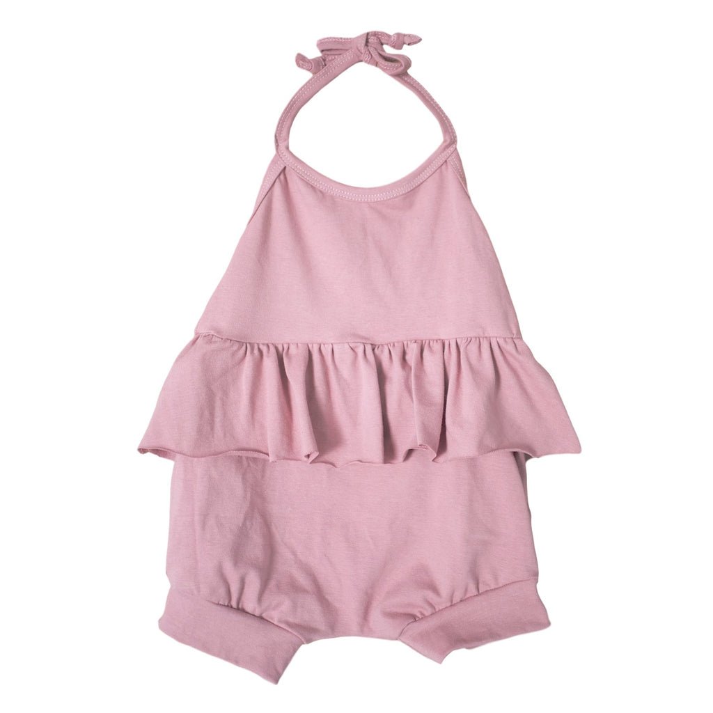girls halter romper | girls summer romper
