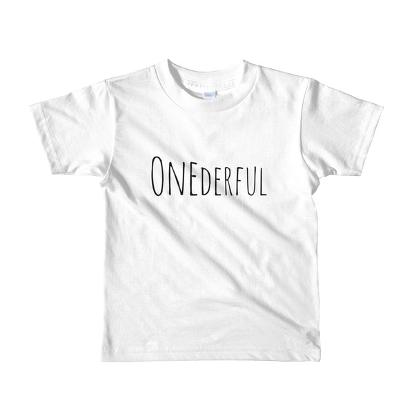 ONEderful Short sleeve t-shirt