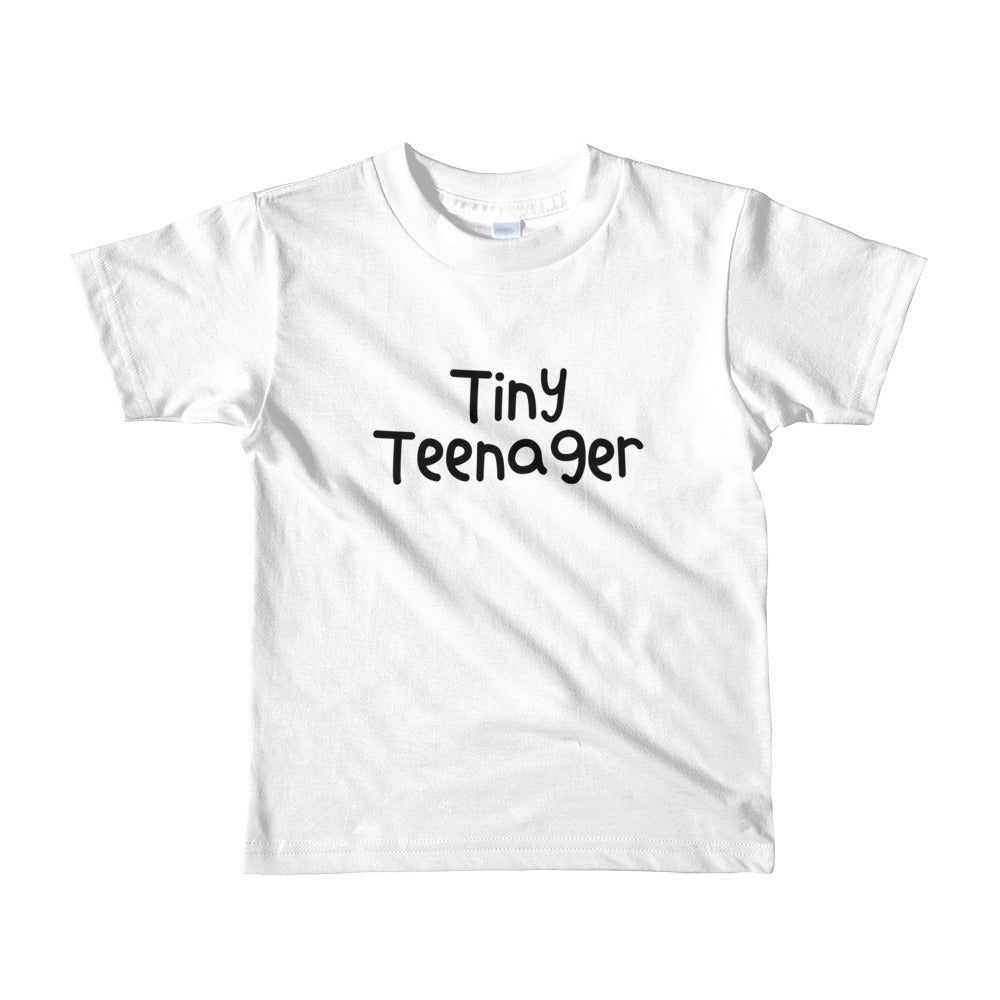Tiny Teenager Short sleeve kids t-shirt- 5 color options
