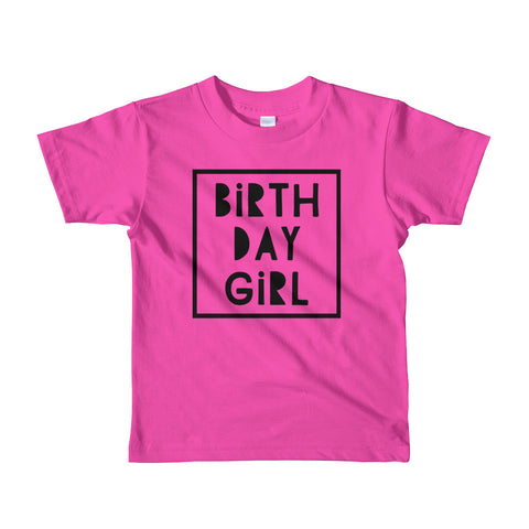 Birthday Girl Tee- 3 colors
