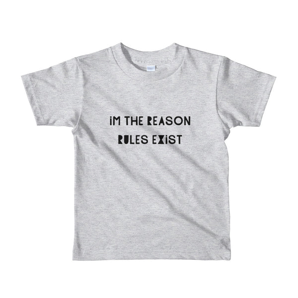 I'm the Reason Rules Exist Tee, 3 colors