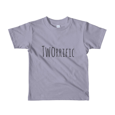 Tworrific Short sleeve kids t-shirt, 5 Color Options