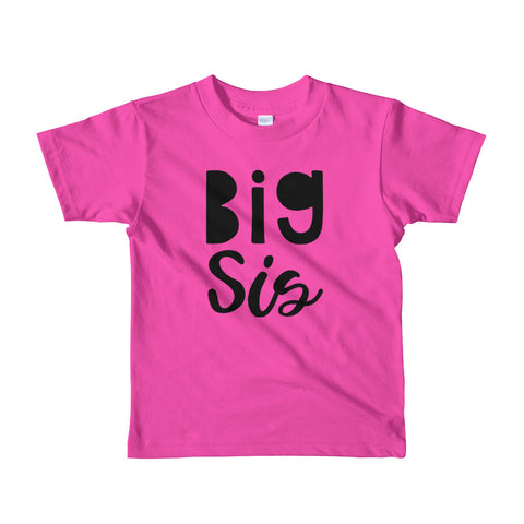 Big Sis Tee- 4 colors