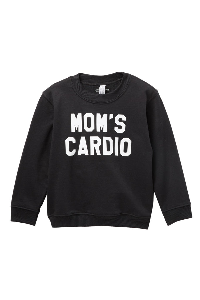 Mom's Cardio Pullover Sweater