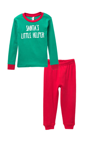 Santa's Little Helper Pajama Set