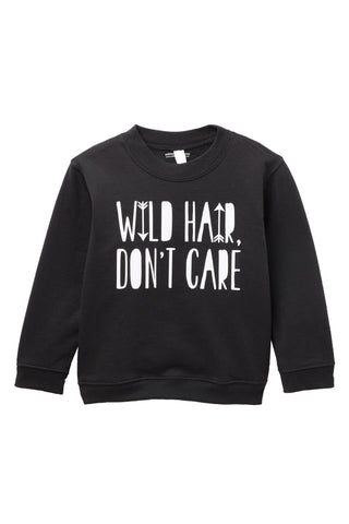Wild Hair Don't Care Pullover Sweater