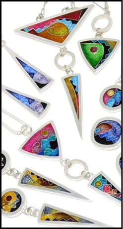 Cloisonné Glass Jewelry