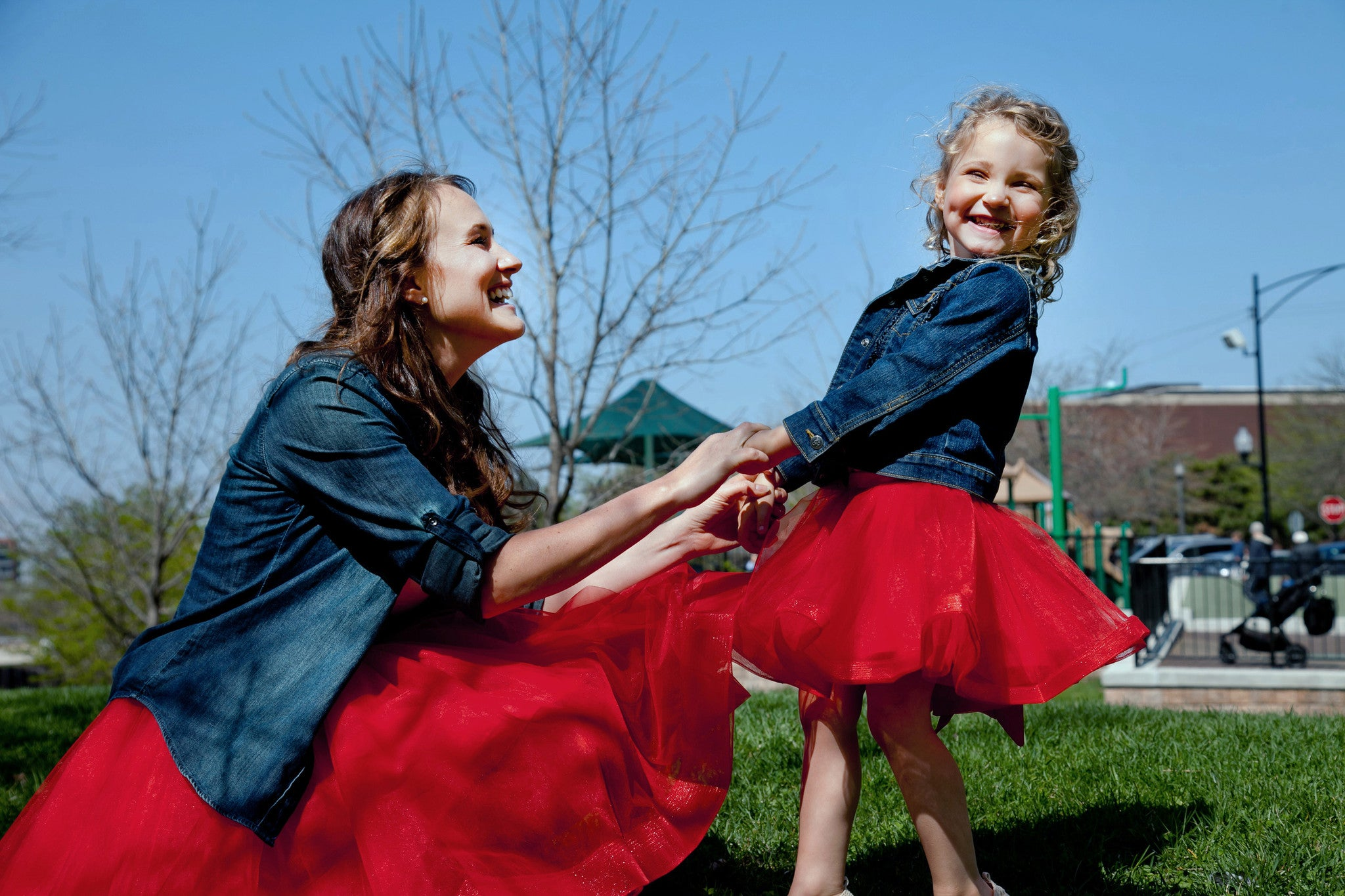 6760d061f5 Mommy & Me Collection — matching tulle skirts for mother and ...