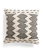 Woven Textured Pillow