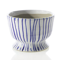 Blue Ripple Bowl: Short