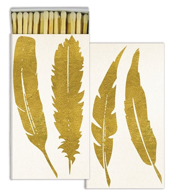 Gold Feather Matches