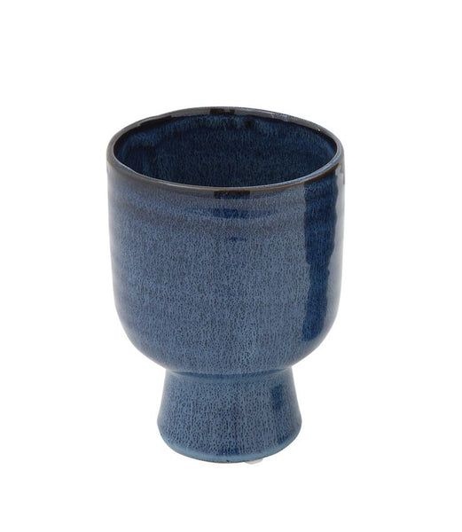 Blue Footed Pot: Small