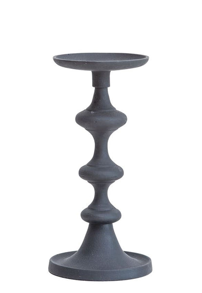 Black Candle Holder: Tall