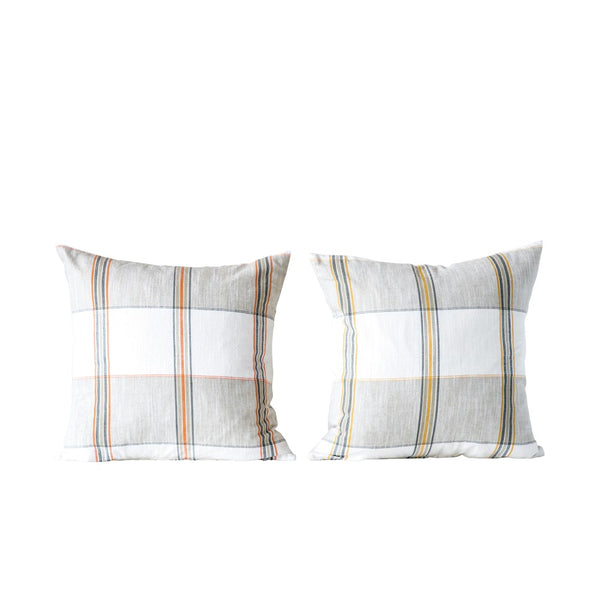 Autumn Plaid Pillow