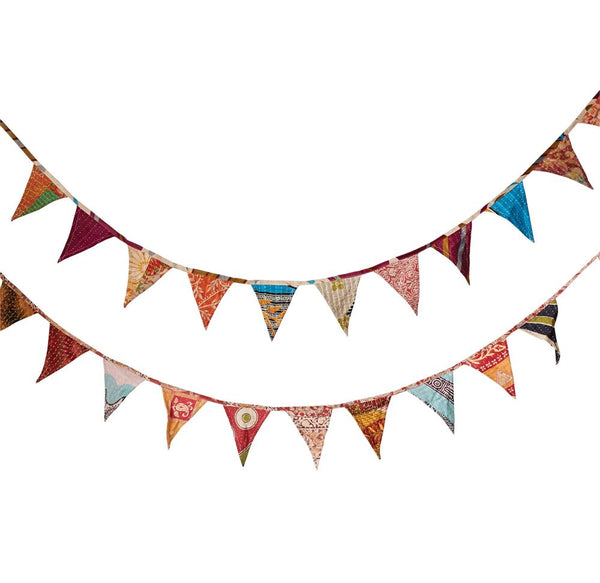 Kantha Flag Garland