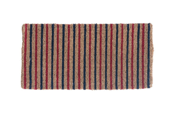 Doormat: red, white & blue