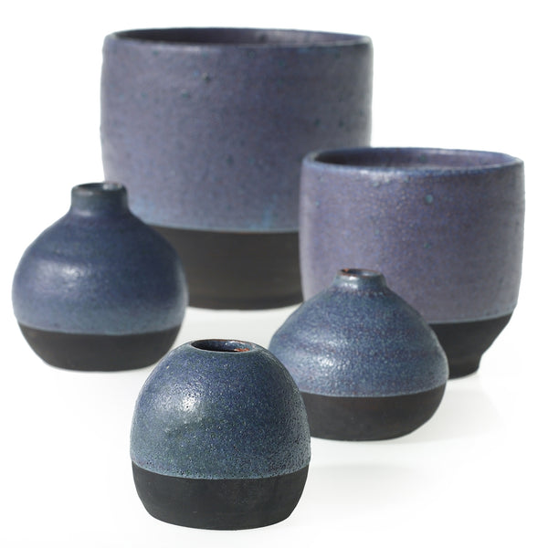 Denim Pot