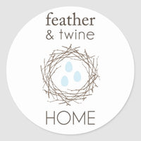 Feather & Twine Candle