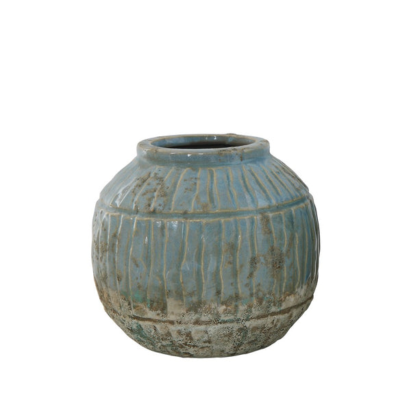 Blue Pot: small