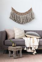 Wool and Wood Wall-hanging