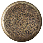 Embossed Brass Tray