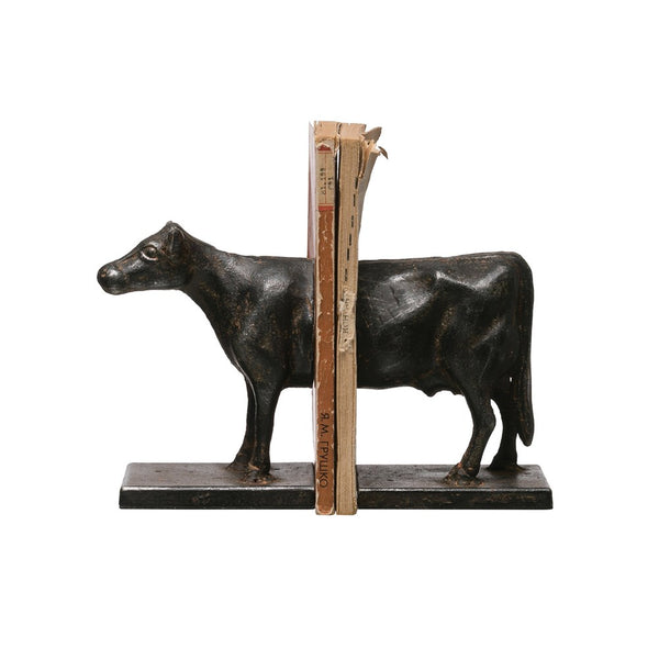 Cow Bookends