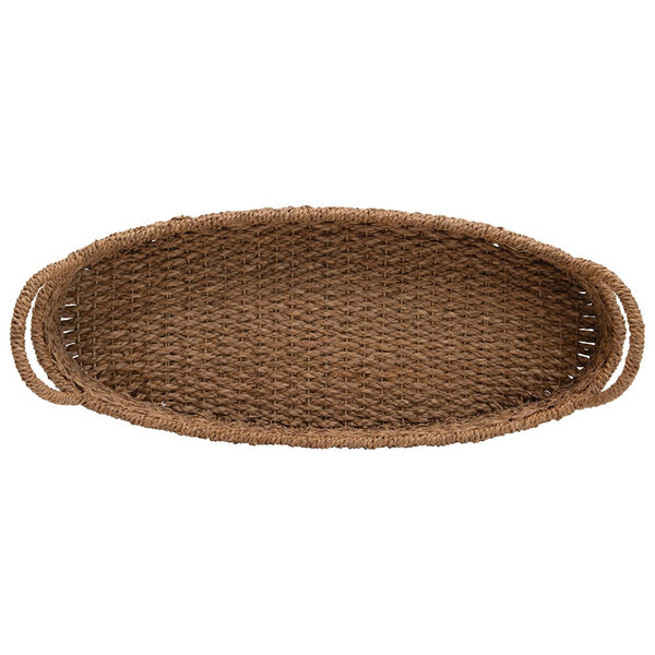 Oval Woven Basket: Large