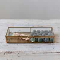 Brass and Glass Box