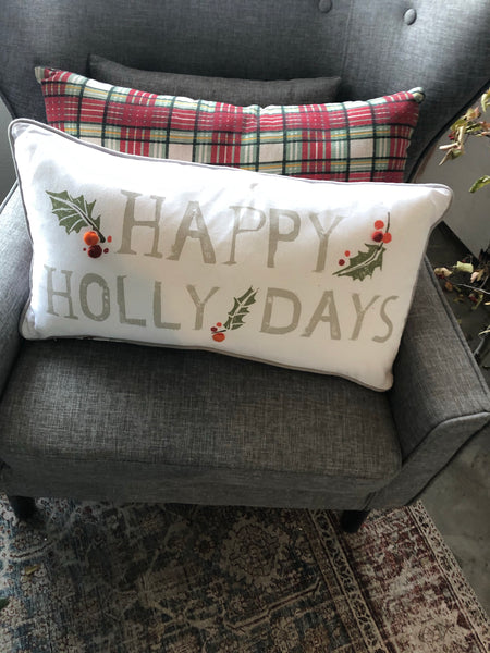 Happy Holly-Days Lumbar