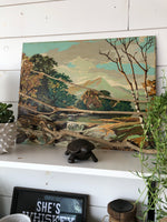 Original Vintage Painting:Large
