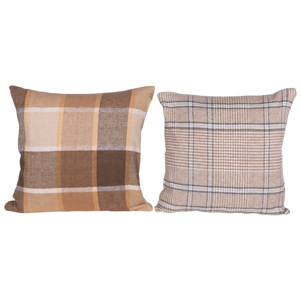 Fall Plaid Pillow