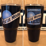 Blue Moon YETI Colster ALL SIZES AVAILABLE-Powder Coated Navy Blue
