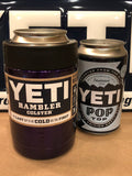 Candy Purple  Custom YETI Rambler Colster with Pop Top Can-Purple Gloss - That's My Yeti