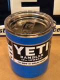 Playboy Blue YETI Rambler Lowball 10oz w/Lid-ALL SIZES-Powder Coated