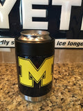 Michigan Yeti Rambler Colster-Custom Finish-Michigan Wolverines