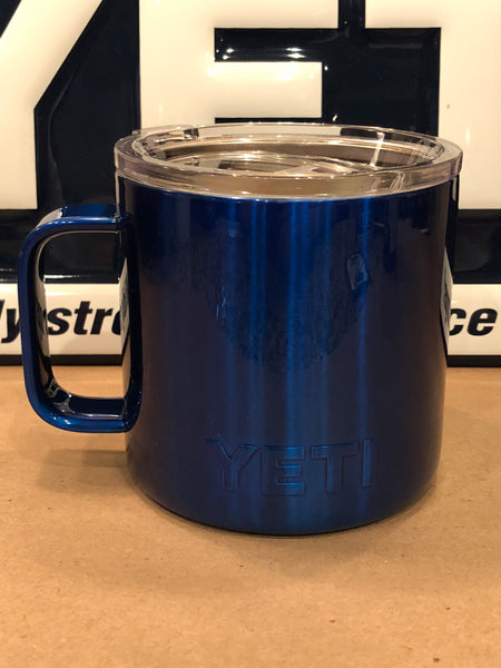 Candy Blue YETI Rambler ALL SIZES-Powder Coated-Custom Candy Blue - That's My Yeti