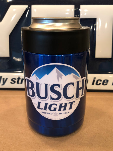 Busch Light YETI Rambler Colster-Powder Coated Candy Blue ALL SIZES AVAILABLE
