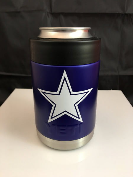 Cowboys YETI Rambler Colster-Custom DALLAS COWBOYS