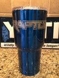 Ford Raptor Yeti Rambler30oz or Kryo Gear Insulated Tumbler-Powder Coated!!