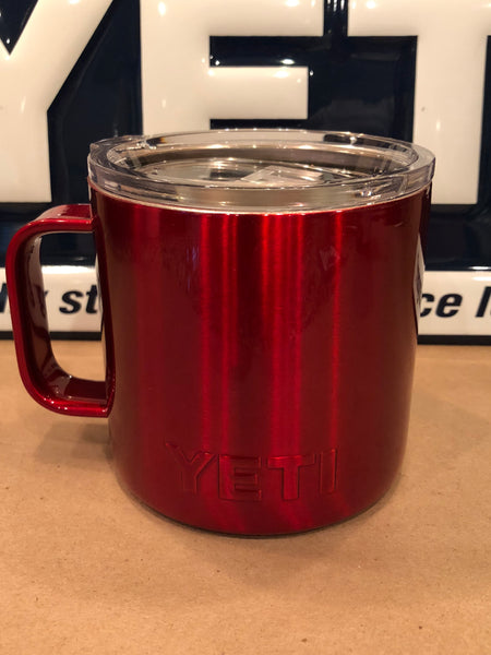 Candy Red YETI Rambler ALL SIZES-Powder Coated-Custom Candy Red - That's My Yeti
