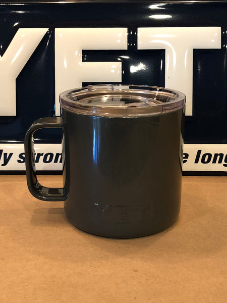 Graphite Gray YETI Rambler Camp Mug-ALL SIZES Available-Powder Coated