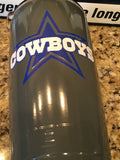 Cowboys Yeti Rambler ALL SIZES-Powder Coated-Custom Dallas Cowboys Logo!