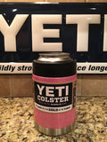 Custom YETI Rambler Colster, Low Ball or 18oz Bottle in Cupcake Pink Sparkle - That's My Yeti
