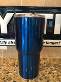 Custom Yeti Comparable..Powder Coated KRYO Gear 30oz Tumbler Candy Blue w/Splashproof Lid! - That's My Yeti