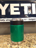 YETI Rambler Colster in Custom Candy Green Envy - That's My Yeti