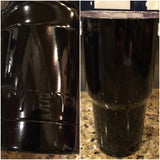Custom YETI Rambler Tumblers (all sizes available) Powder Coated in Gloss Black !! - That's My Yeti