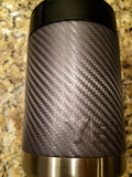 YETI Rambler Colster Bottle/Can Beverage Holder in Custom Graphite Color Carbon Fiber - That's My Yeti