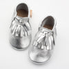 Shimmer toddler/kids fringe moccs