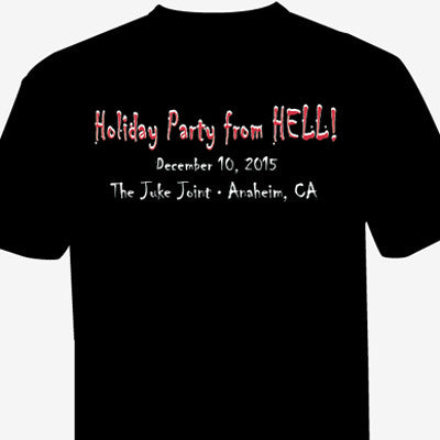 The Tom Leykis Show Holiday Party From Hell T-Shirts